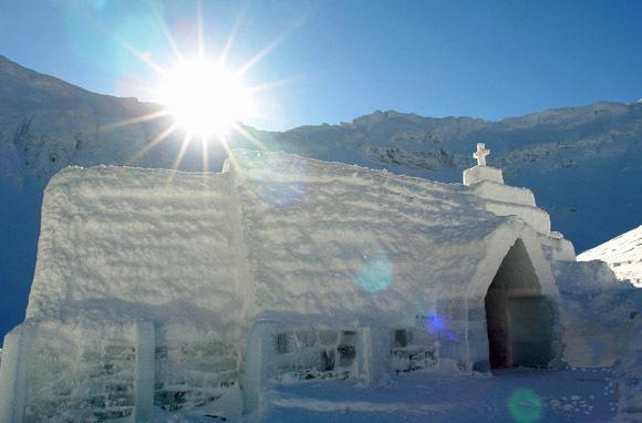 Ice Hotel, Balea Lake, Rumanía