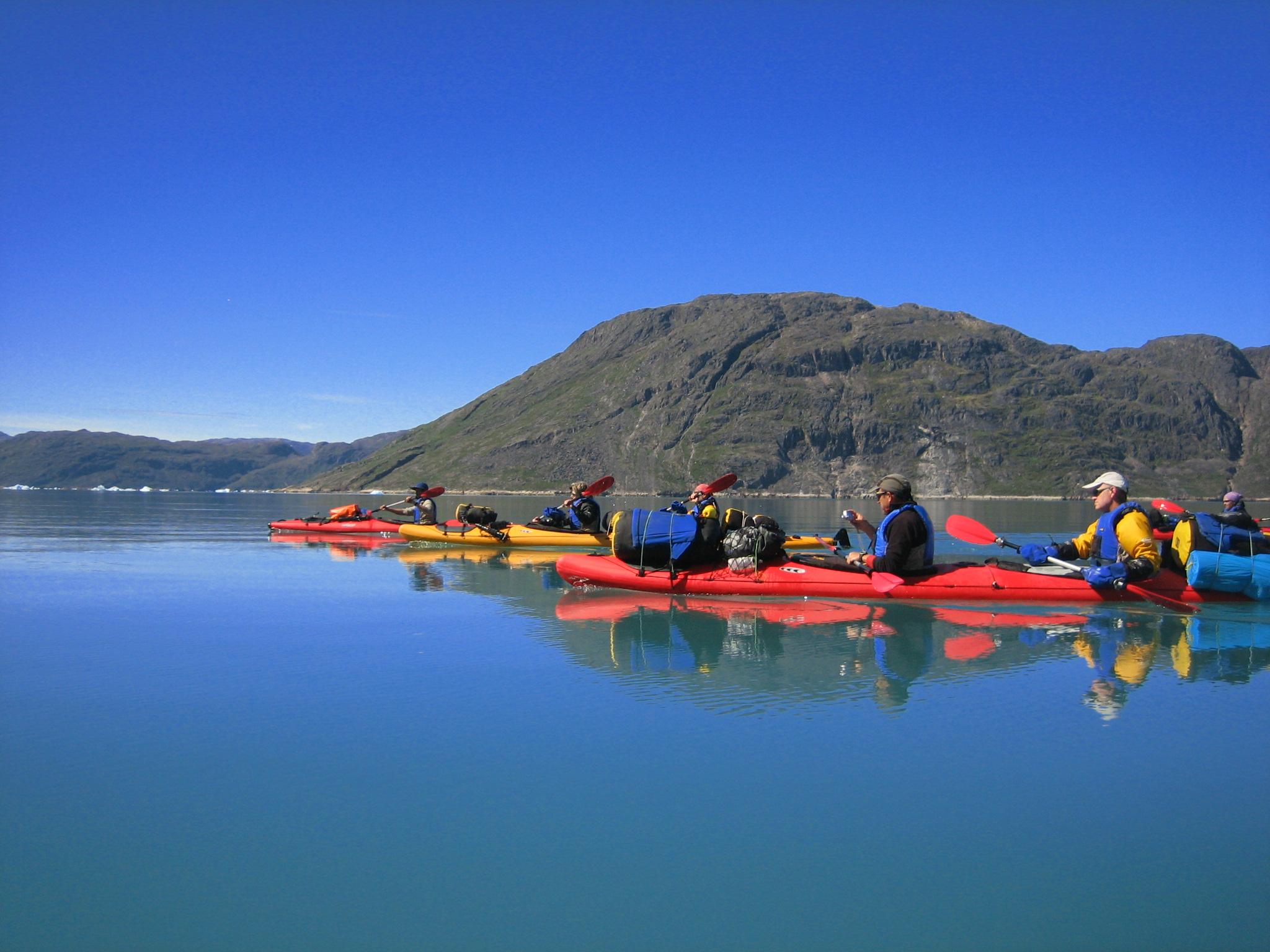 Mi viaje a Groenlandia
